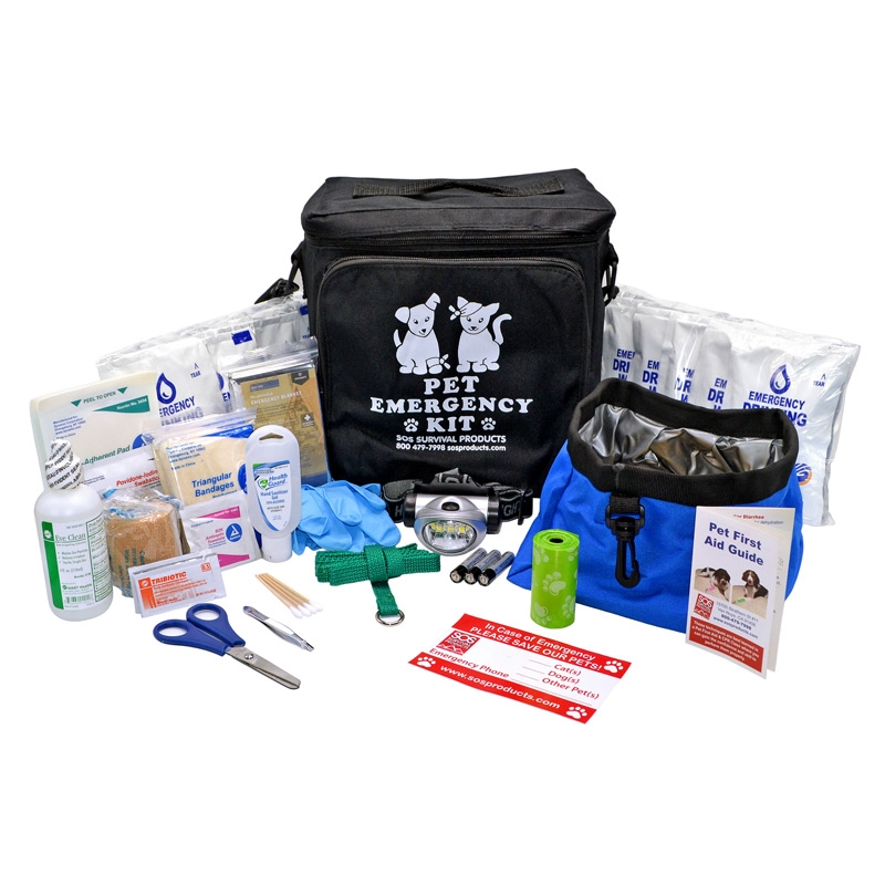 Pet Emergency Kit First Aid Pack For Cats And Dogs