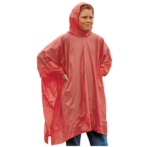 Polyethylene Children S Rain Poncho With Hood Cheap Kids