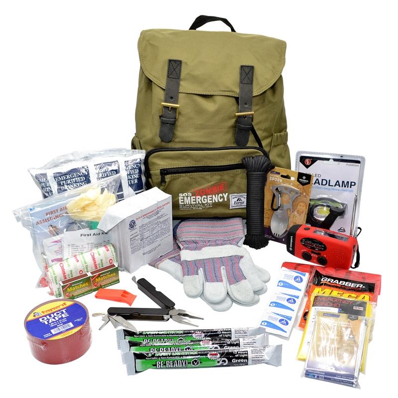Zombie survival kit for sale australia used