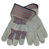 Leather Palmed Gloves - Large - Each