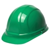 Hard Hat - 6-Point Suspension with Ratchet - Green