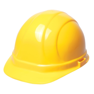 hard hat 6 point suspension with ratchet yellow. Black Bedroom Furniture Sets. Home Design Ideas