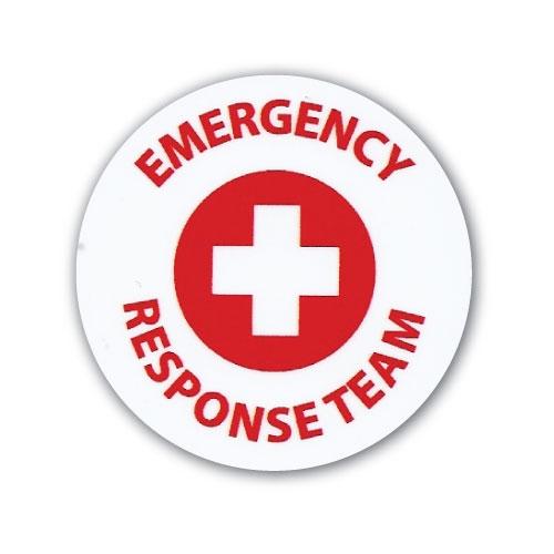 Hard Hat Emblem Emergency Response Team