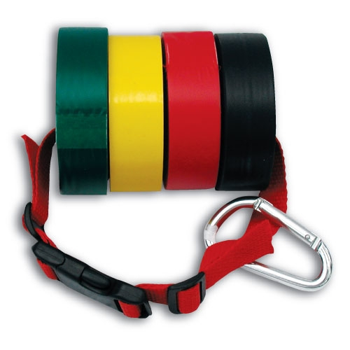 Triage Tape Holder With Carabiner