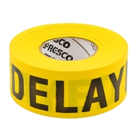 Triage Tape - Yellow - Delayed