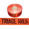 Triage Area Tape - 1,000' - Red