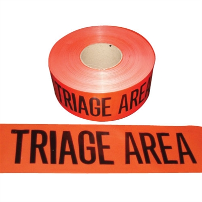 Triage Area Tape 1 000 Red