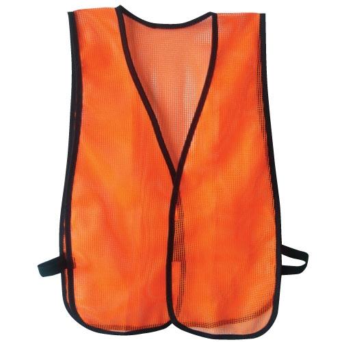 Mesh Safety Vest Hi Vis Orange