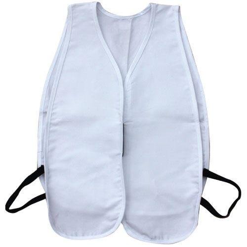 Cloth Safety Vest White