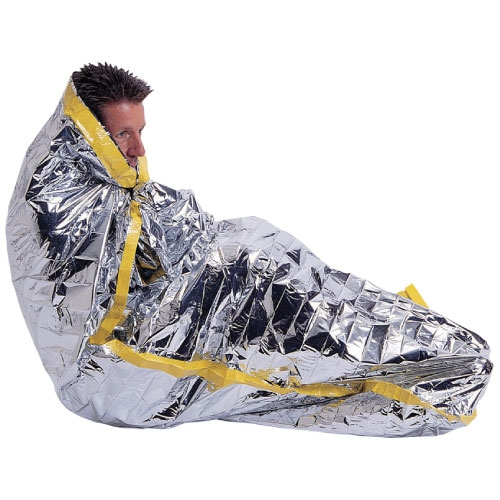 Mylar Emergency Sleeping Bag Great For Shelters Boats