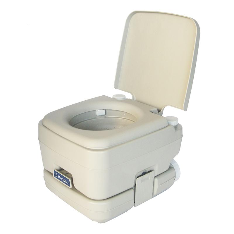 Portable Flushing Toilet Easy Clean Portable Toilet