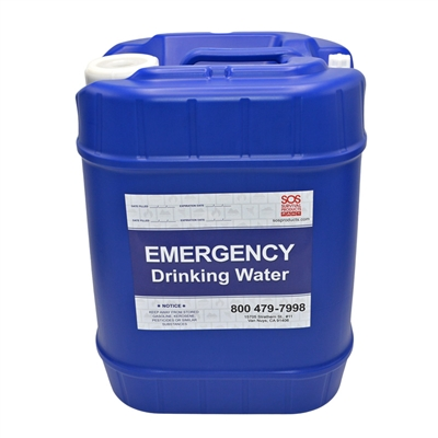 Water Storage Container - 5-Gallon  sc 1 st  SOS Survival Products & Emergency u0026 Survival Water Storage | 55 Gallon Water Barrel Storage