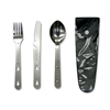 Metal Knife, Fork and Spoon Set