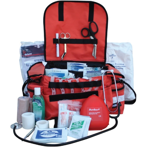 Emt Basic Responder First Aid Kit Includes Trauma Bag