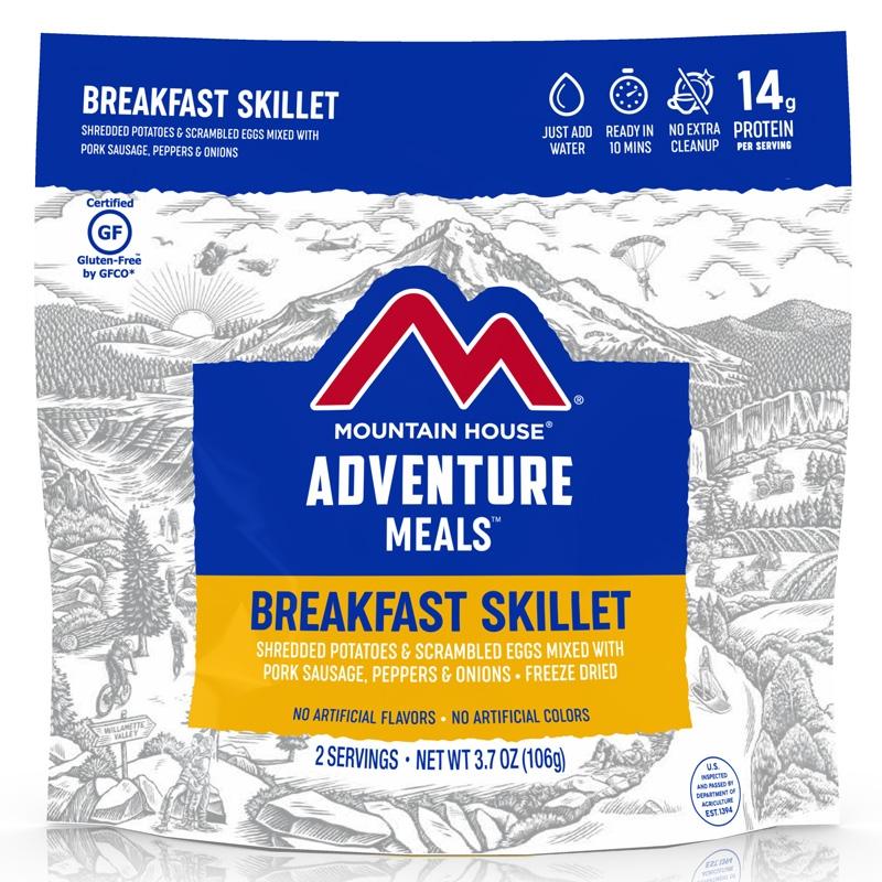 Mountain House Breakfast Skillet Wrap