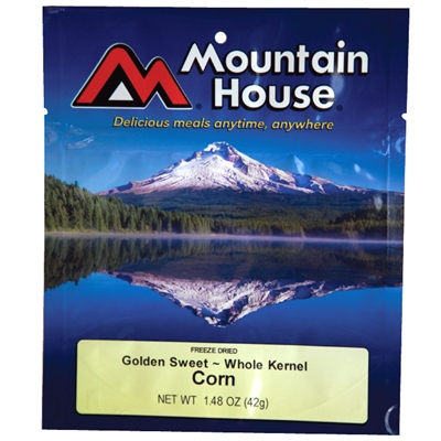 Mountain House Golden Sweet Whole Kernel Corn - Double Serving