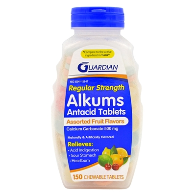 Tums Chewable Tablets 150 Tablets