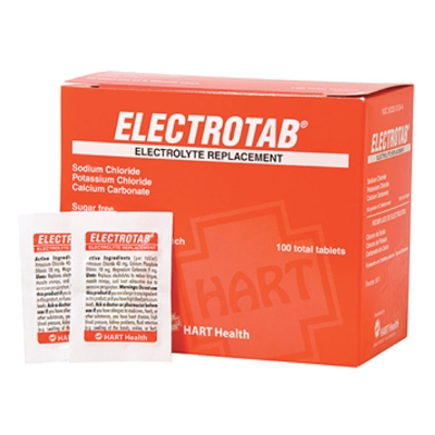 Electrolyte Replacement Tablets 100 Tablets