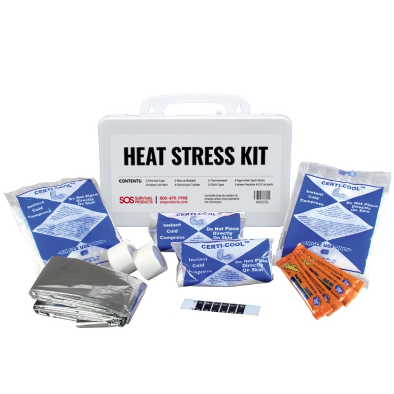 Heat Stress Responder Kit From Certified Safety