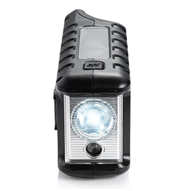 Emergency Crank Radio With Flashlight Usb Charger