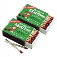 Waterproof Matches - 2-Pack