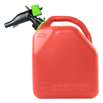 5 Gallon Poly Gas Can Safe Fuel Storage Container