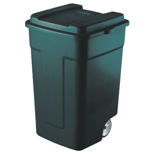 Trash Can With Wheels 50 Gallon