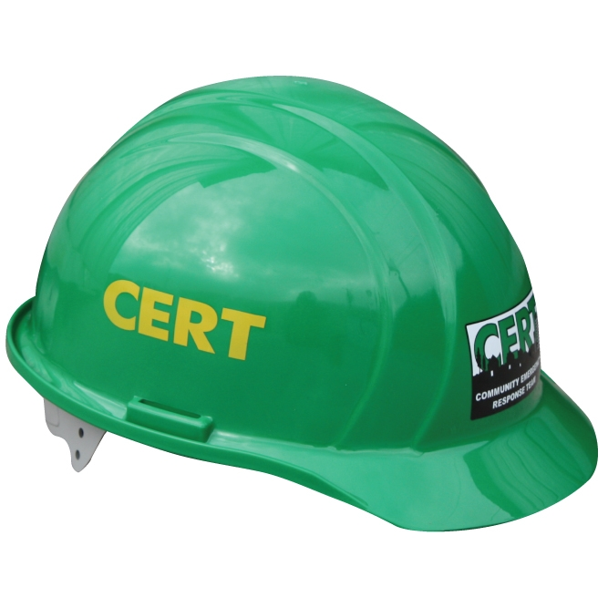 Cert Hard Hat With Fema Logo