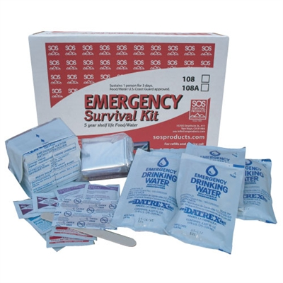 1-Person Emergency Survival Kit
