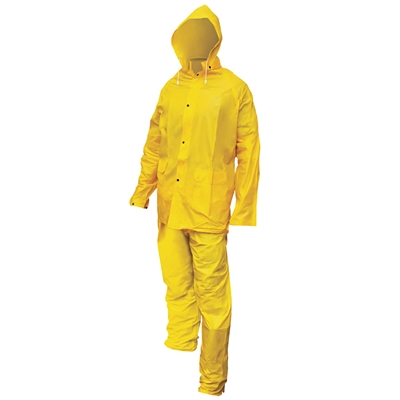 3-Piece Rainsuit -XXX- Large
