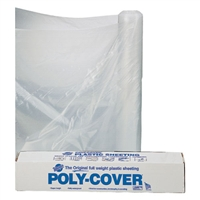 Plastic Sheeting 3 ML Clear - 10' x 25'