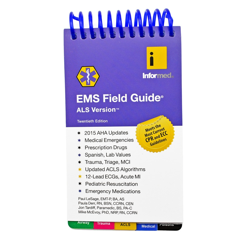 informed als version 19th edition ems critical care pocket field guide rh sosproducts com critical care acls guide apk critical care acls guide apk