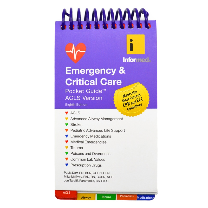 informed eighth edition acls emergency critical care pocket guide rh sosproducts com emergency & critical care pocket guide acls version emergency & critical care pocket guide acls version 8th edition