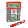 Lumber Marking Crayon - Red - 12-Pack