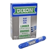 Lumber Marking Crayon - Blue - 12-Pack