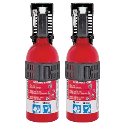 First Alert Auto Fire Extinguishers - 2-Pack