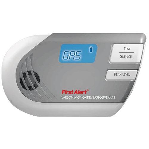 Carbon Monoxide/Explosive Gas Detector