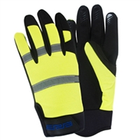 High Vis Gloves - Medium