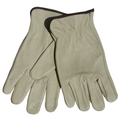 Drivers Leather Gloves - Medium - Each