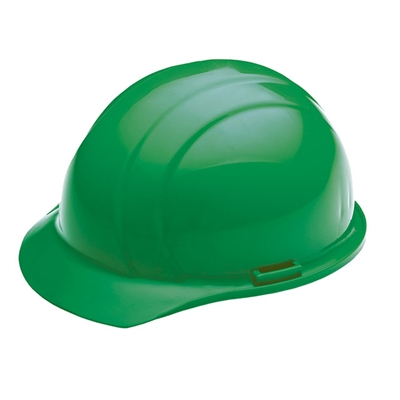 Hard Hat - 4-Point Suspension - Green
