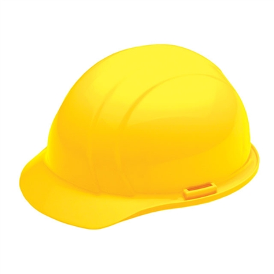 Hard Hat - 4-Point Suspension - Yellow