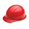 Hard Hat - 4-Point Suspension - Red