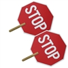 Stop/Stop Paddle Sign