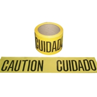 Barricade Tape 1,000 Ft. Yellow Caution/Cuidado