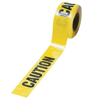 Barricade Tape 1,000 Ft. Yellow Caution