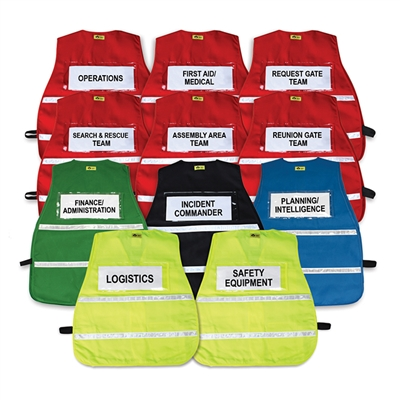 school command vest set
