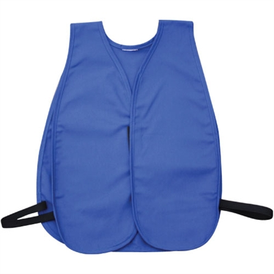 Cloth Safety Vest - Royal Blue