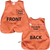 ICS Cloth Safety Vest - Orange
