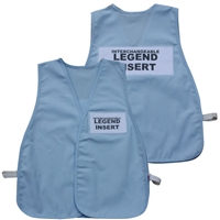 ICS Cloth Safety Vest - Light Blue