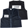 Deluxe ICS Cloth Safety Vest - Black